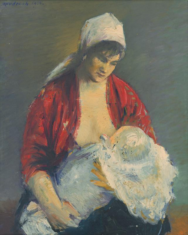 Ján Mudroch – Mother with Child