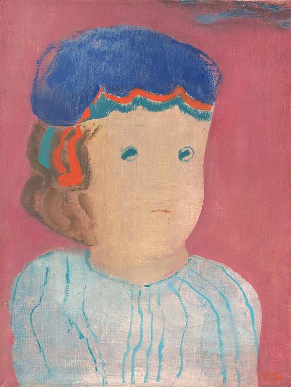 Viera Kraicová – Girl in a Blue Cap