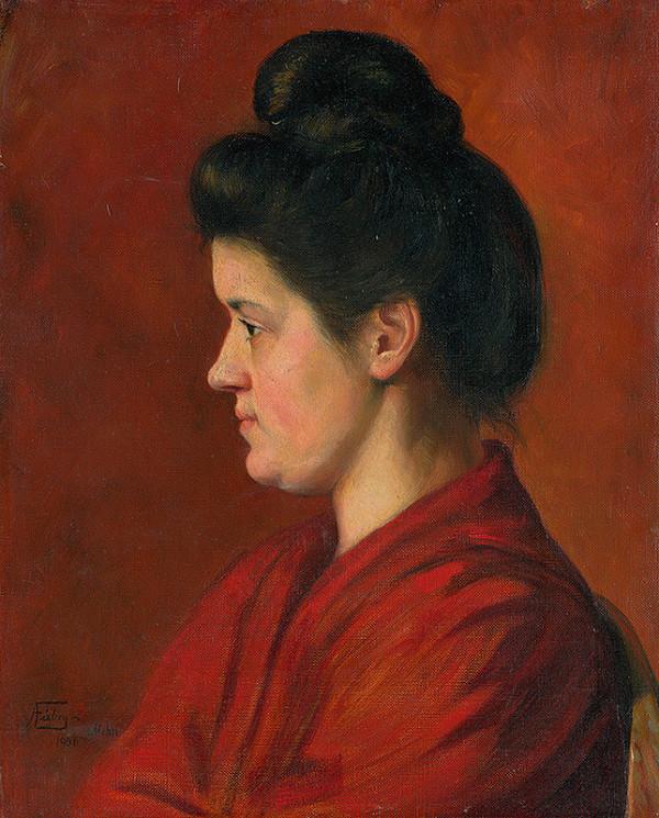 Alojz Fábry – Woman's Head