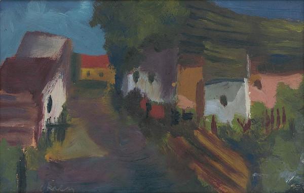 Juraj Krén – Village Motif
