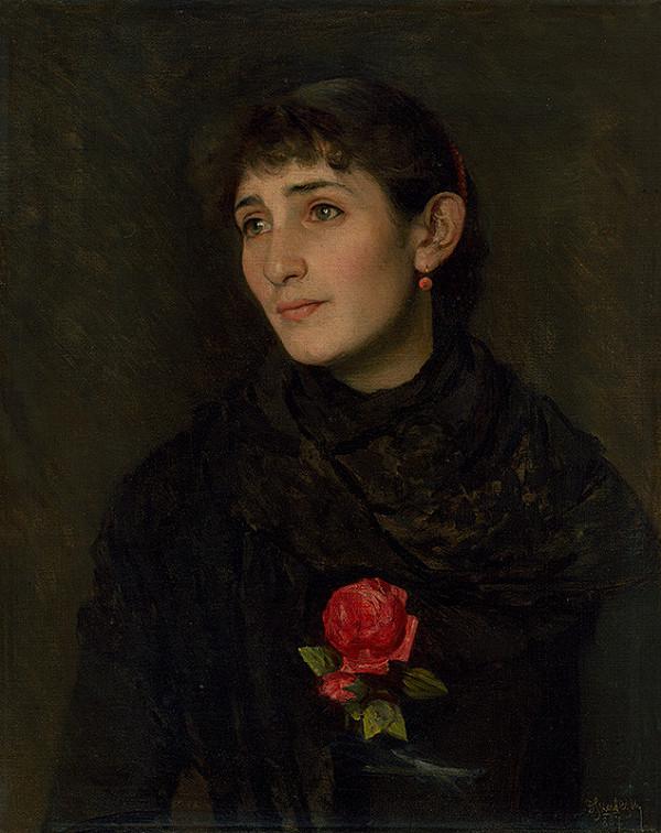 Dominik Skutecký - Portrait of his Wife