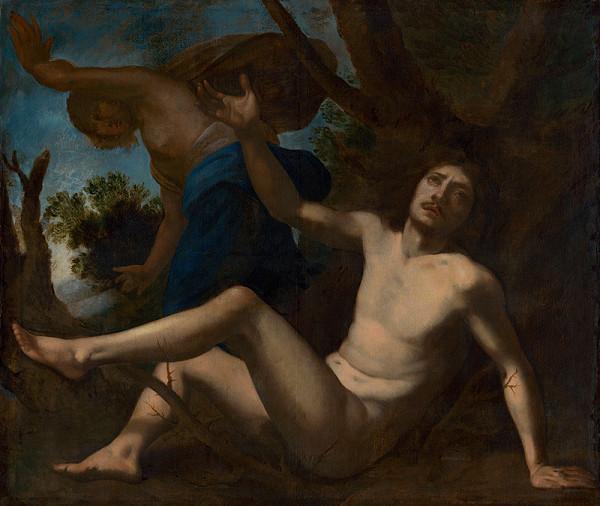 Stanzione Massimo - Saint Benedict Escapes Temptation