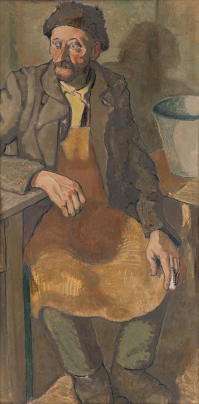 Ladislav Čemický – Seated Man