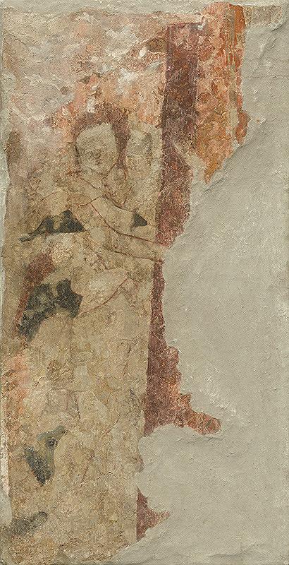 Slovenský maliar zo 16. storočia, Neznámy maliar - Fragment of a Figure
