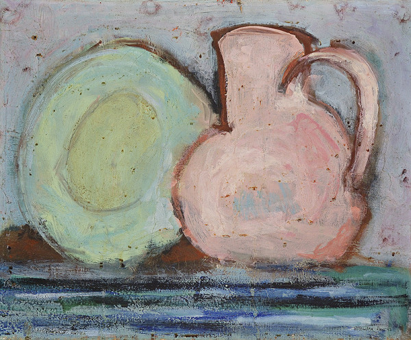 Míťa Kolesárová – Plate and Jar