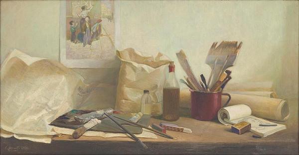 Ladislav Gandl - Painter's Still-Life