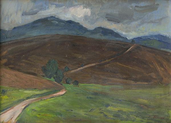 Martin Tvrdoň – Ploughland below Bezovec