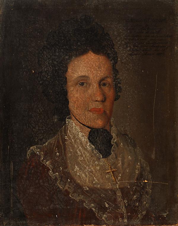 Východoslovenský maliar zo začiatku 19. storočia - Portrait of Anna Huszar