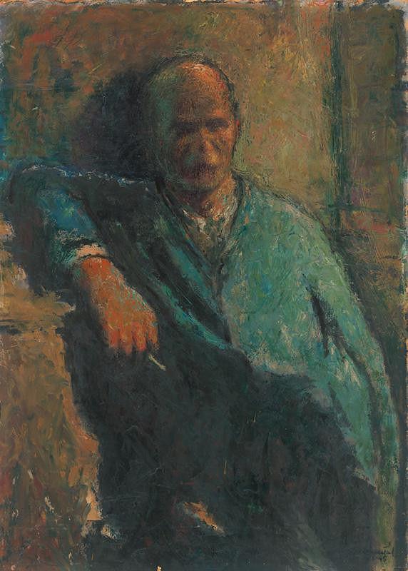 František Reichentál - Portrait of a Man