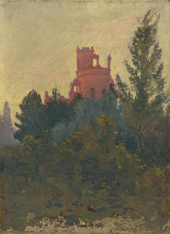 Rudolf August Benyovszky - Castle Park in Lehnice
