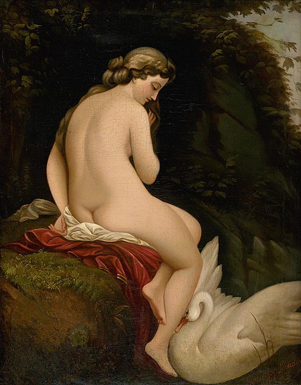 Alexander Nyulassy - Leda and the Swan