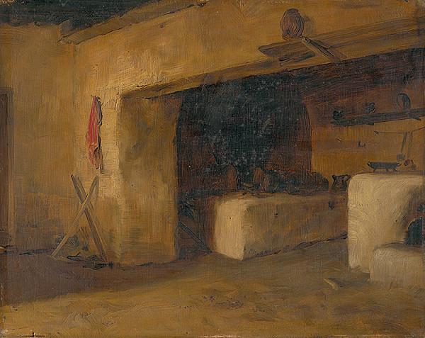 Eduard Ballo – Cottage Interior