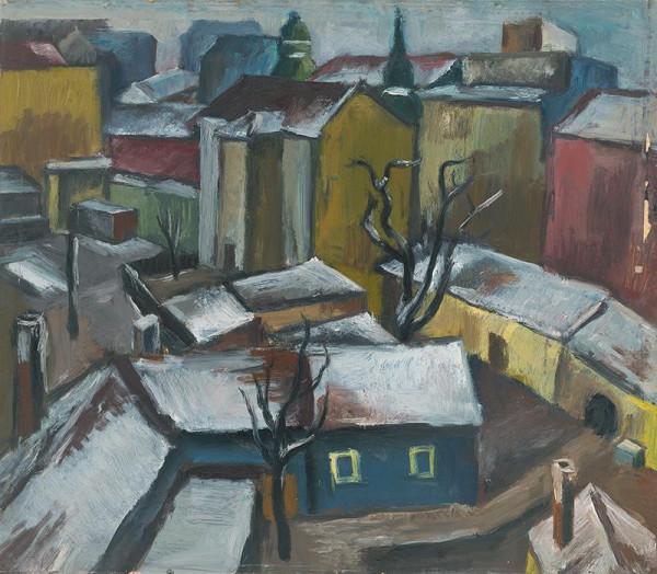 Ernest Zmeták – Roofs I.