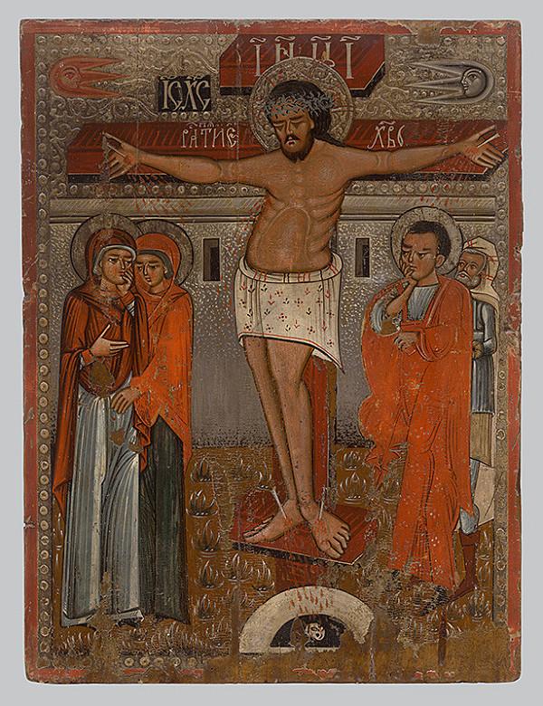 Neznámy ikonopisec - Crucifixion