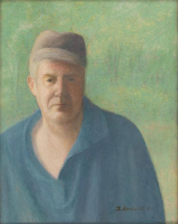 Jozef Beňušík - Self-Portrait