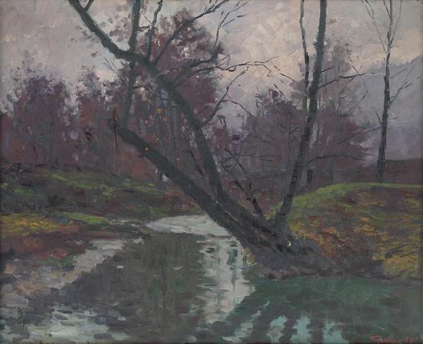 František Gyurkovits – Forest Interior