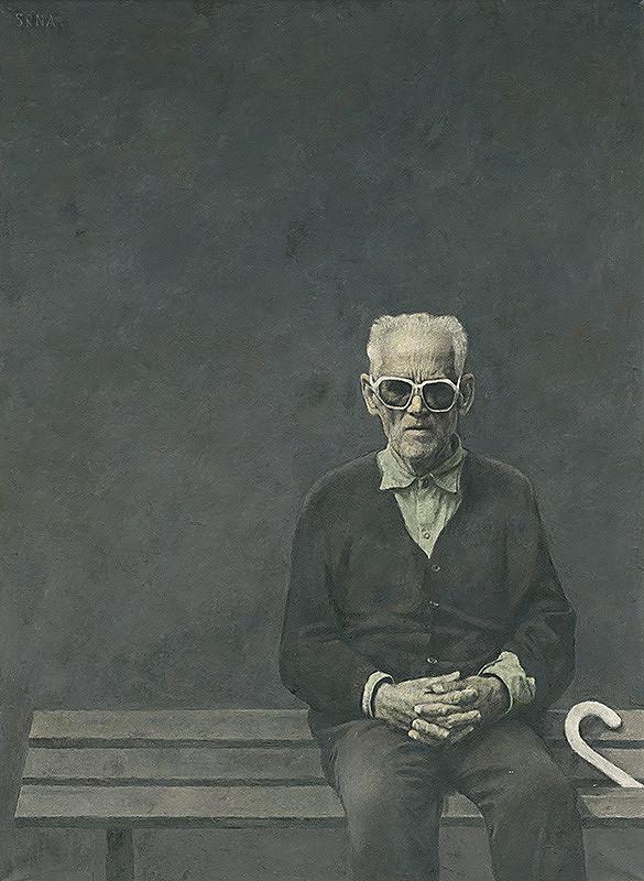 Jozef Srna st. – Blind Man