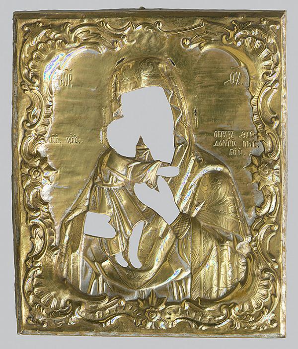 Neznámy ikonopisec - Teodorovská (Fjodorovská) Matka Božia