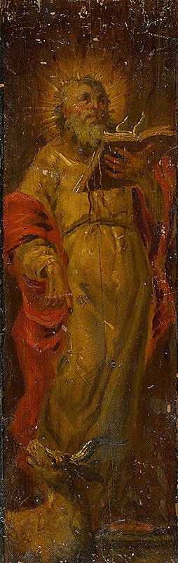 Slovenský maliar zo 17. storočia, Neznámy maliar - Saint Luke the Evangelist