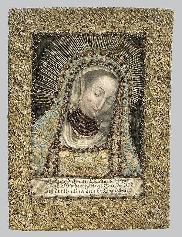 Slovenský remeselník z 18. storočia, Neznámy remeselník – Madonna