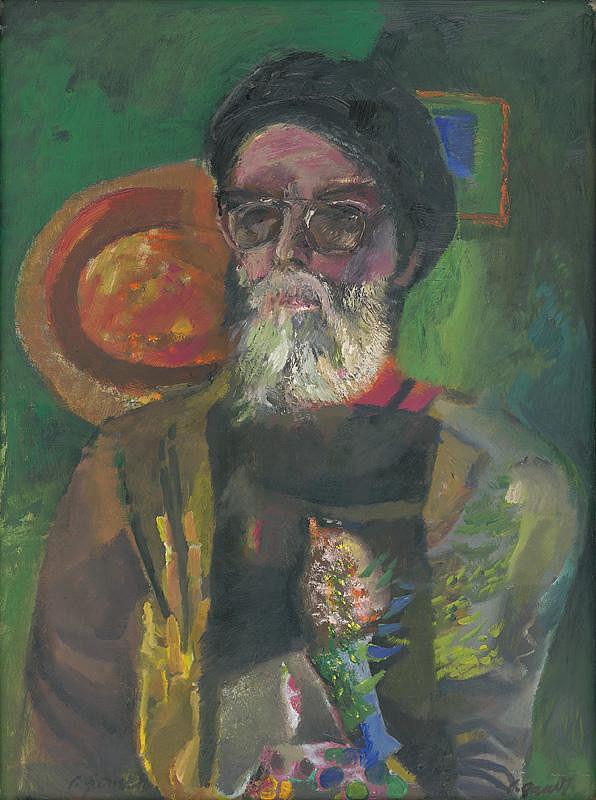 Ladislav Gandl – Self-Portrait