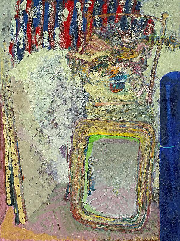 Ján Berger – Still Life with a Mirror