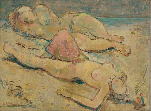 Imrich Weiner-Kráľ – Women on the Beach