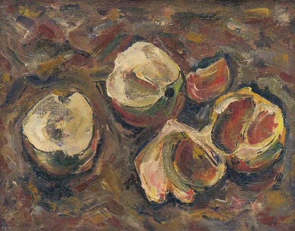 František Studený – Still Life with Fruit