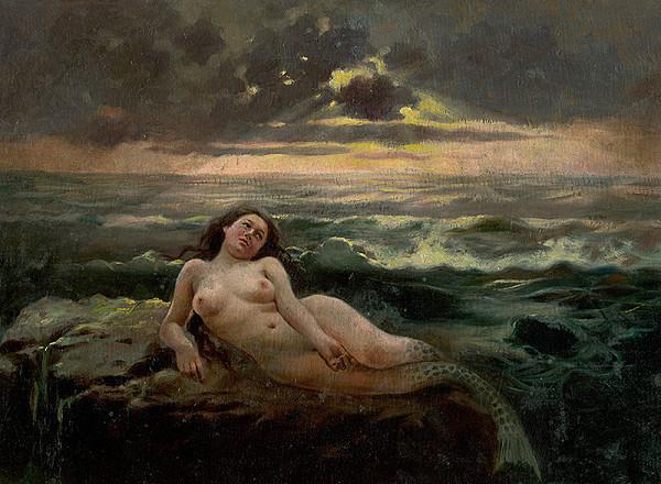 Gustáv Mallý – Sea Waves