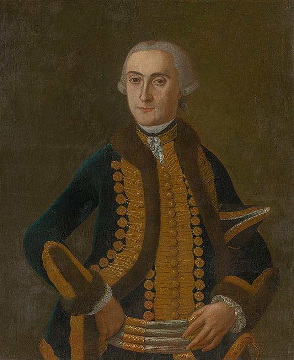 Slovenský maliar z 18. storočia, Neznámy maliar - Portrait of L. Berzeviczy
