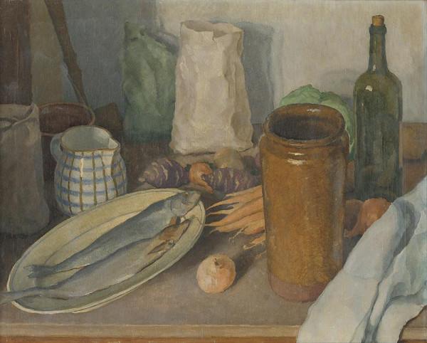 Július Koreszka – Kitchen Still Life
