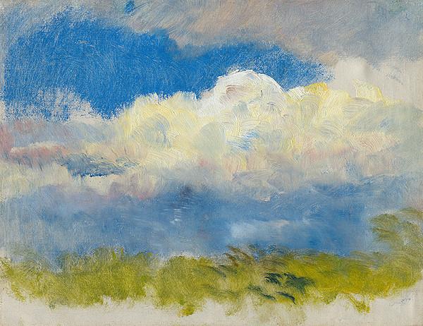 Ladislav Mednyánszky - Study of Spring Sky
