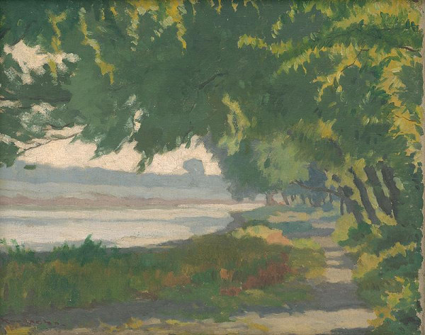 Július Koreszka – Pečenský Lake by Bratislava