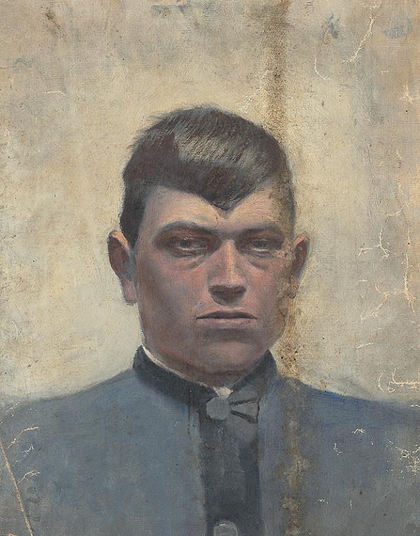 Ladislav Mednyánszky – Portrait of a Man