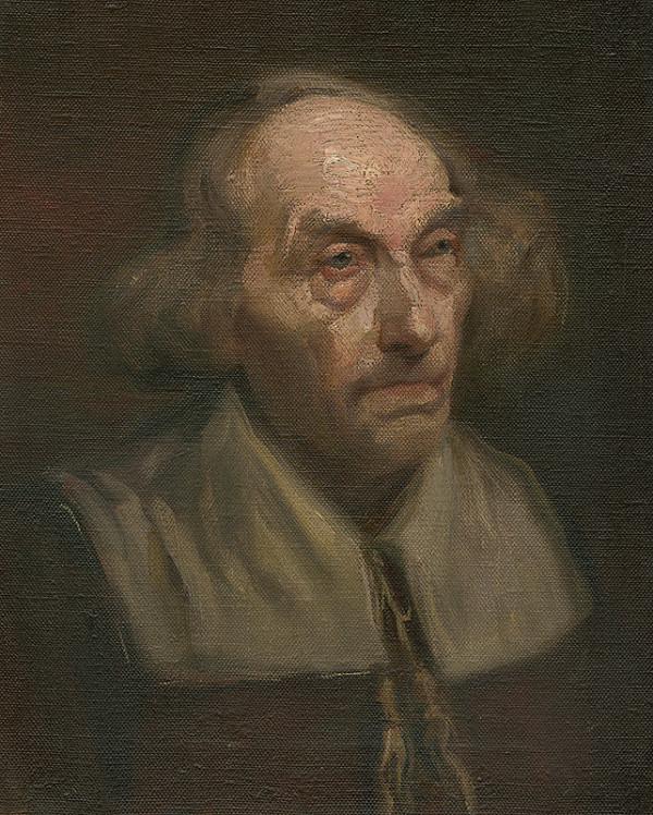 Ľudovít Pitthordt - Head of an Old Man