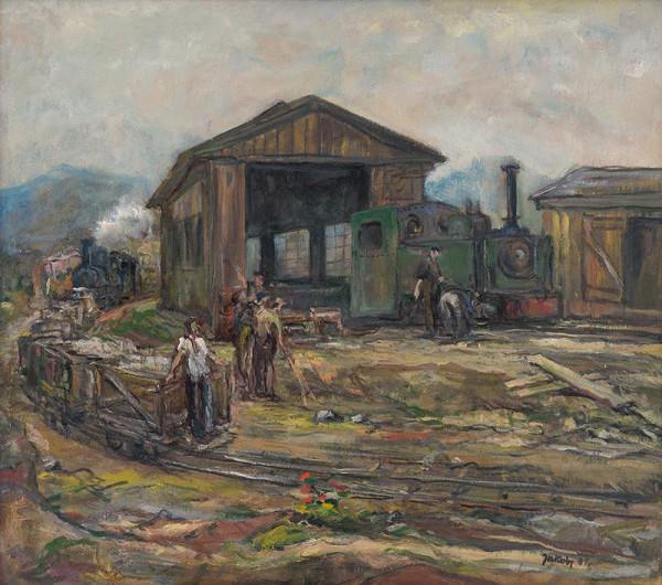 Július Jakoby - Locomotive Repair Depot