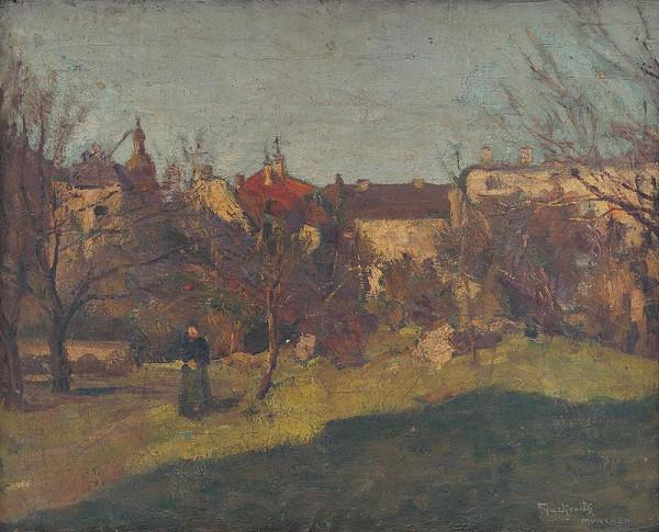 František Gyurkovits – Munich Landscape