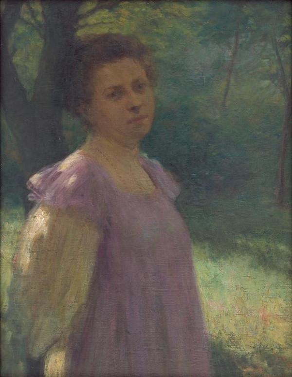 Elemír Halász-Hradil – Under a Tree