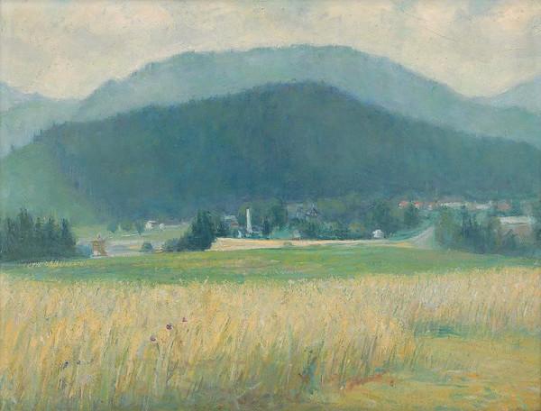 Vojtech Mensatoris – Liptov Landscape