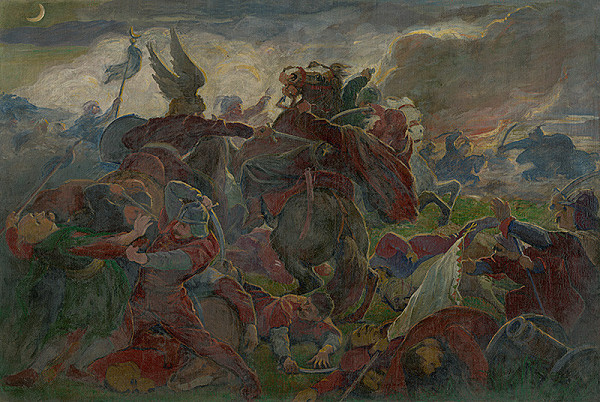 Jozef Hanula - Tomory's Death at the Battle of Mohács