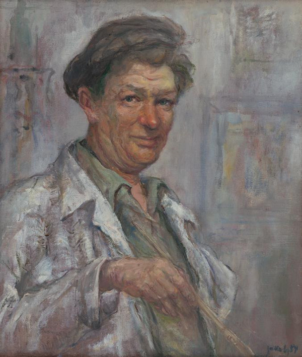 Július Jakoby - Self-Portrait