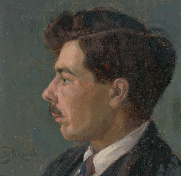 Štefan Polkoráb - Portrait of the Artist J. Korezska