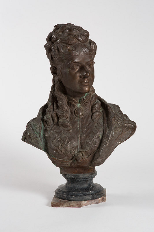 Leopold Schrödl – Podobizeň dámy