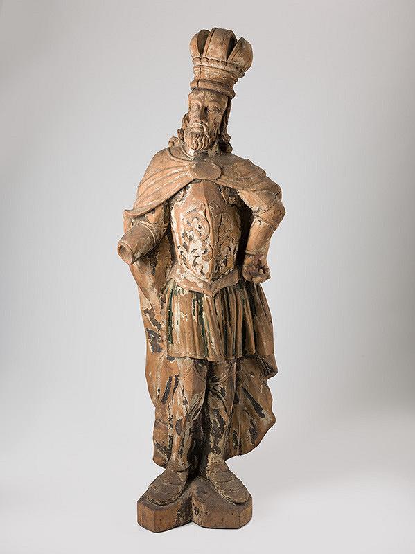 Slovenský rezbár zo začiatku 18. storočia, Neznámy rezbár - Svätý Ladislav