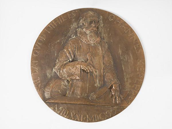 Andrej Peter - Návrh na medailu prírodovedeckej fakulty nemeckej univerzity v Prahe