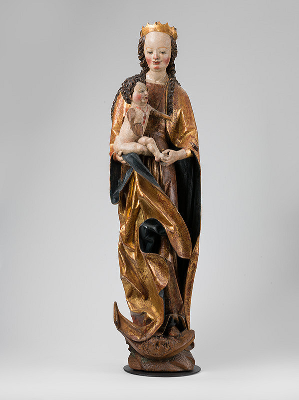 Majster kráľovských postáv z Matejoviec, Neznámy rezbár – The Hôrka (Ondrej) Madonna