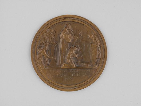 Ján Koniarek - Medaila k výročiu založenia Pribinovho kostola v Nitre/reverz