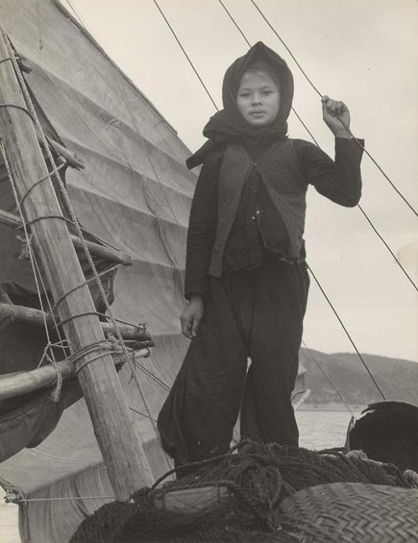 Ján Cifra – Vietnam - portréty. Rybárske dievča