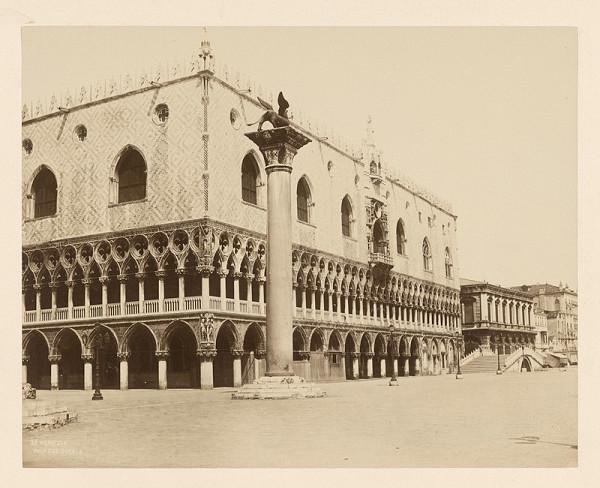 Neznámy autor – Benátky. Dóžovský palác (Palazzo Ducale)