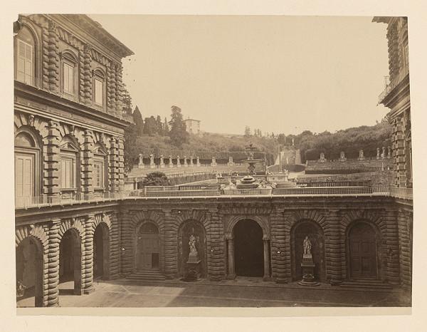 Neznámy autor – Florencia. Palác Pitti (Palazzo Pitti)